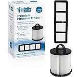 Fette Filter - Vacuum Filter Compatible with Eureka DCF-21 - Pack of 1 (DCF-21 & EF-6)