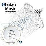Morpilot Douchette Musique Pommeau de douche avec Haut-Parleur Bluetooth 3.0 Imperméable Tête de...
