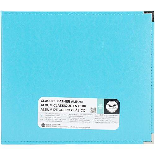 We R Memory Keepers 0633356609018 Classic Album Album & Sleeve-12 x 12-Ring-Aqua