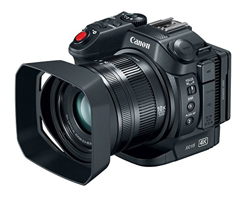 Canon XC15 4K UHD Professional Camcorder