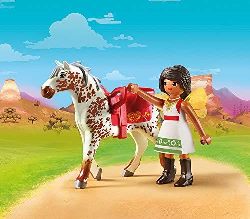 Solana con caballo Spirit Playmobil (70123 )