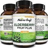 Best Antioxidant Supplements - Black Elderberry Capsule Antioxidant Supplement - Immune Support Review