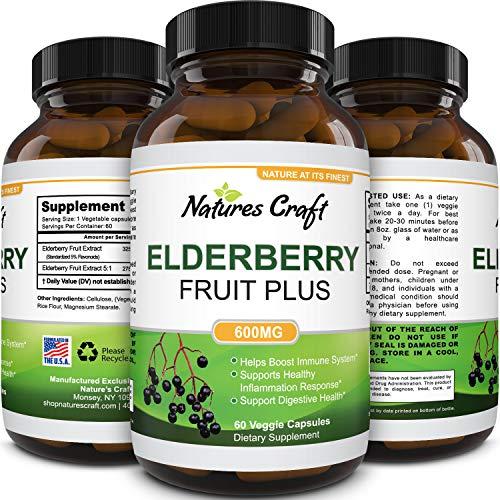 Black Elderberry Capsule Antioxidant Supplement review