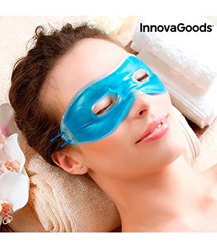 InnovaGoods IG117889 - Antifaz de gel relajante