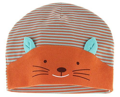 Y-BOA Bonnet Beanie Bébé Fille Garçon Naissance Déguisement Chat Mignon Chaude Chapeau Orange