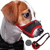 Best Dog Muzzles - Fuzilin Soft Nylon Dog Muzzle for Small,Medium,Large Dogs Review