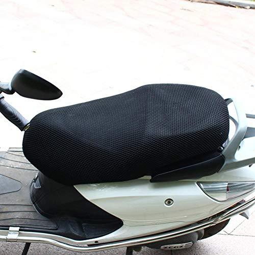 kaersishop Funda de Asiento de Motocicleta, Antideslizante Transpirable, Malla de Malla, Scooter, co