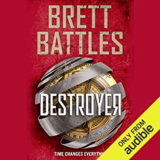 Destroyer     Rewinder, Book 2              Written by:                                                                                                                                 Brett Battles                               Narrated by:                                                                                                                                 Vikas Adam                      Length: 7 hrs and 13 mins     1 rating     Overall 5.0