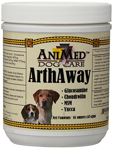 Top 10 best selling list for arthaway powder joint tissue supplement for dogs