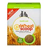 Wheat Scoop Multi-Cat Natural Cat Litter - 15lbs (Pack of 2)