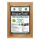 Shagun Gold 100% Pure & Natural Black Henna Powder Hair Color for Hair