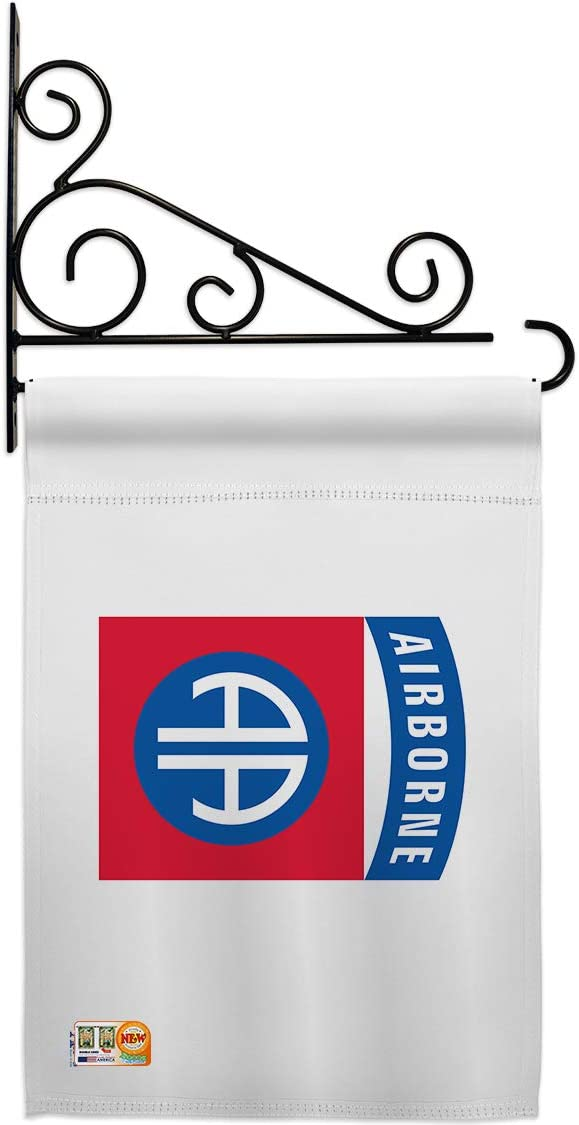 Army 82nd. Airborne Garden Flag Set Ran Holder Forces Wall 卸売り おすすめ Armed