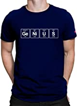 PrintOctopus Graphic Printed T-Shirt for Men & Women   Funny Quote T-Shirt   Genius T-shirt   Periodic Table T-Shirt   Half Sleeve T-Shirt   Round Neck T Shirt   100% Cotton T-Shirt   Short Sleeve T shirt