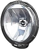 HELLA 1F6 010 952-001 Faro de carretera - Comet FF 500 - FF/Halógena - H3 - 12V/24V - redondo - Tulipa transparente - transparente - montaje exterior - Lado mont.: izquierda/derecha