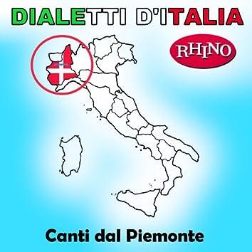 Dialetti d'Italia: Canti dal Piemonte