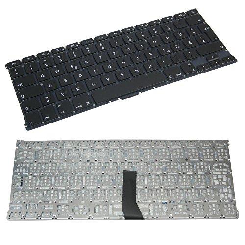 Trade-Shop Premium Laptop-Tastatur mit Hintergrundbeleuchtung Deutsch QWERTZ für Apple MacBook A1369 A1466 MC965 MC966 MC503 (Deutsches Layout)