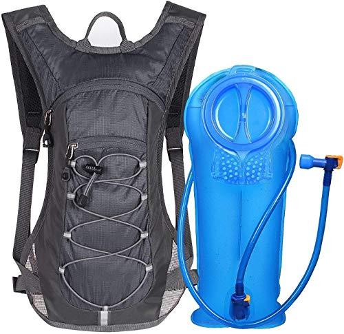 Unigear Trinkrucksack Hydrationspack mit 2L Trinkblase Fahrradrucksack für Joggen,...