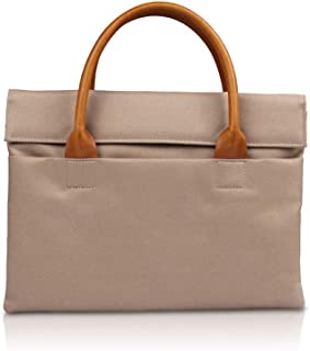 Mens Bag Length 39.5* High 28* Thickness 3.5cm Business Blue, Beige Computer Bag Waterproof File Package Large Capacity, Waterproof And Wearable, Material Safety And Environmental Protection, High cap