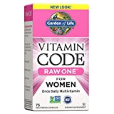 Garden of Life Vitamin Code Raw One for Women, Once Daily Multivitamin...