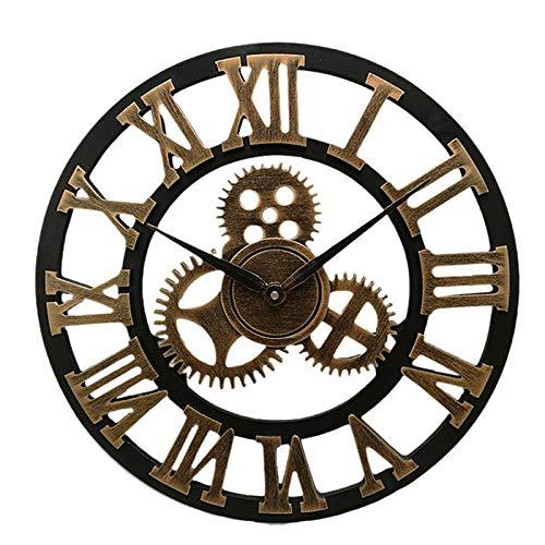 orologio da parete industrial Orologio da parete industriale Gear Orologio da parete decorativo da parete stile industriale 50 x 50 x 5 cm