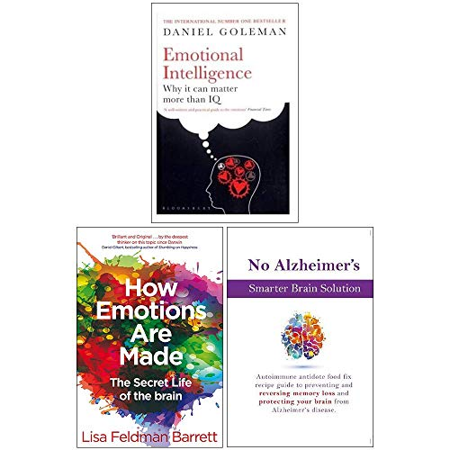 Emotional Intelligence, How Emotions Are Made The Secret Life of the Brain, No Alzheimer