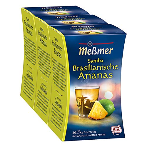 Meßmer Samba Brasilianische Ananas, 3er Pack