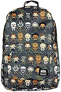 Loungefly Star Wars Character All Over Print Chibi Backpack