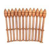 12 Stück Spitze Spulen Hartholz Vintage Holz Shuttles Webnadeln Zubehör für Strickhandwerk