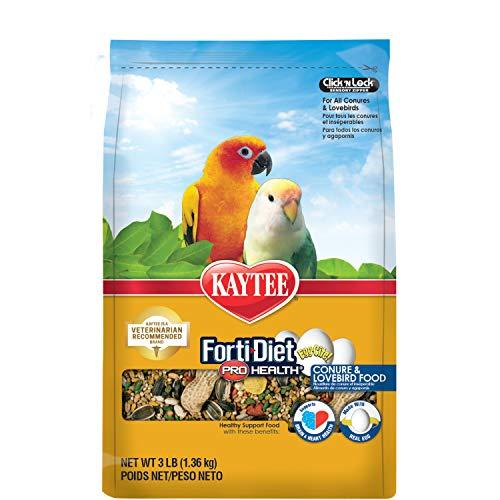 Kaytee Forti-Diet Pro Health Egg-Cite! Conure & Lovebird...