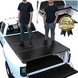 DNA Motoring TTC-HARD-035 Truck Bed Top Hard Solid Tri-Fold Tonneau Cover Compatible with 01-14 Silverado Sierra 2500HD 3500HD 8Ft Fleetside Bed