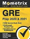 GRE Prep 2020 & 2021: GRE Secrets Study Book, Full-Length Practice Test,...