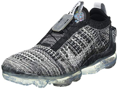 Nike Air Vapormax 2020 FK, Zapatillas para Correr Hombre, Black White Black, 42 EU