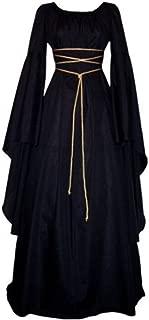 Women Renaissance Medieval Gothic Victorian Halloween Costume Cosplay Dress