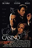 Limited Edition Casino Poster, signiert Foto Autogramm