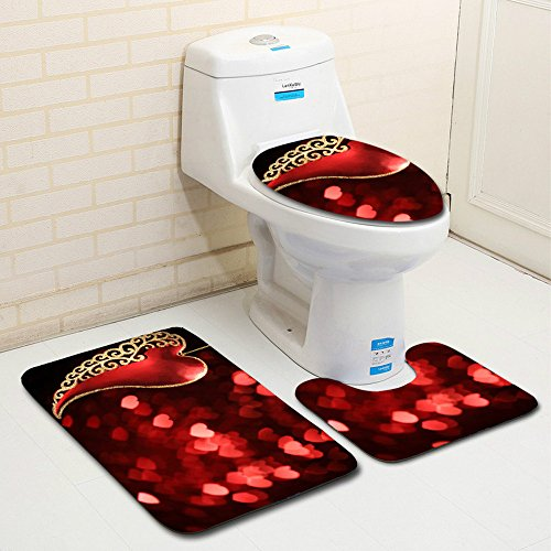 Windy5 Ovale Dot Douche Tapis Anti-d/érapant PVC Tapis de Bain Ventouse Cuisine Salle de antibact/ériennes Tapis de Pied