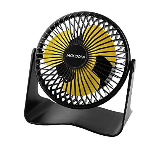 Small Desk Fan,Office Personal Mini Table Fan,3-Speed Quiet Battery Operated Fan 5000mAh For Bedroom Home Travel