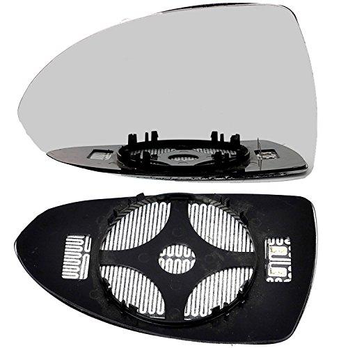 Right driver side Silver Wing mirror glass SRI # VaCor//b01-2006051//590