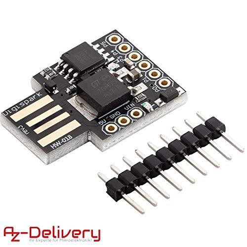 AZDelivery Digispark Rev.3 Kickstarter mit ATTiny85 und USB für Arduino mit gratis eBook!