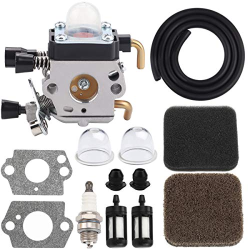 Hipa Carburetor with Air Filter Fuel Lines RePower Kit for STIHL FC 72 Edger FS 72 FS 74 FS 76 Trimmer Weedeater