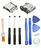 Games&Tech 2 x USB Charging Charger Port Connector Dock + Tools for Samsung Galaxy Tab 4 7.0 SM-T230N SM-T230NU SM-T237P