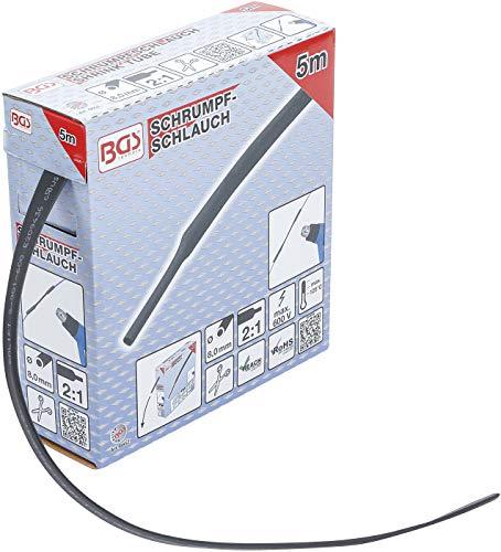 BGS 6852 | Schrumpfschlauch-Box | schwarz | Ø 8 mm | 5 m