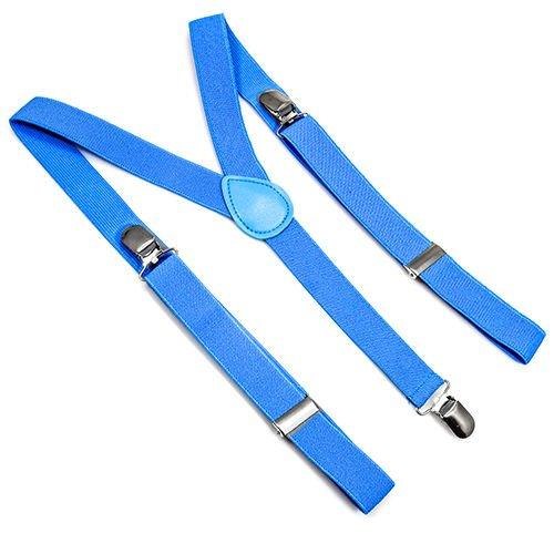 Homeking - Bretelle elastiche a Y con attacco a molletta, da adulto, unisex, regolabili, colori fluo