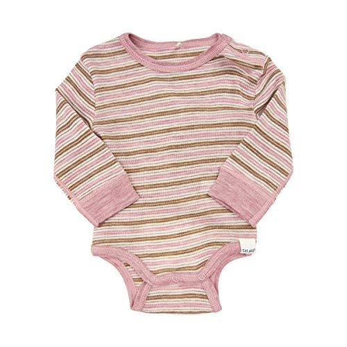 CeLaVi Body Mit Langen Ärmeln in Weicher Wolle, Rose (Rosa), 92/98 (Taille Fabricant: 90) Mixte bébé