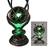 Gmasking 2020 Metal Eye of Agamotto Light-up Cosplay Necklace Pendant Exclusive Full Size Replica Props