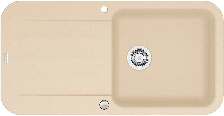 Franke Pebel PBG 611-97 Sahara Granit Spülbecken Beige Küchenspüle Einbauspüle