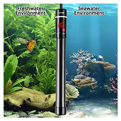 KAERMA Fish Tank onderwatertemperatuur titanium digitaal display verwarming legering aquarium onderwater verwarmingselement EU/VS/UK/AU-stekker huisdieraccessoires