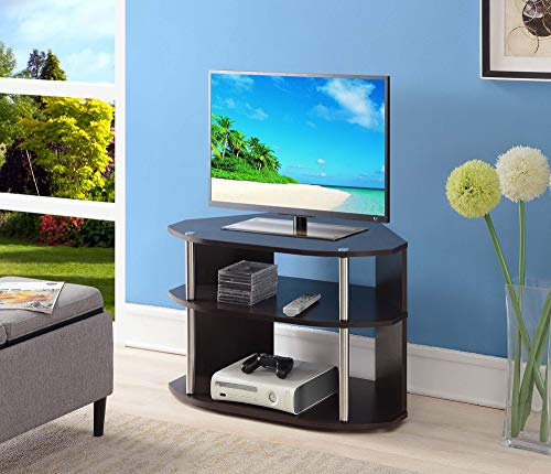 Convenience Concepts Designs2Go Swivel TV Stand, Espresso
