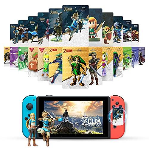 24Pcs NFC Cards for The Legend of Zelda Breath of The Wild, Zelda Cards...