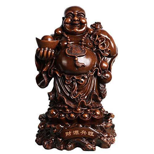 ZY&ZQ Estatua Buda/Maitreya el Buda del Futuro.