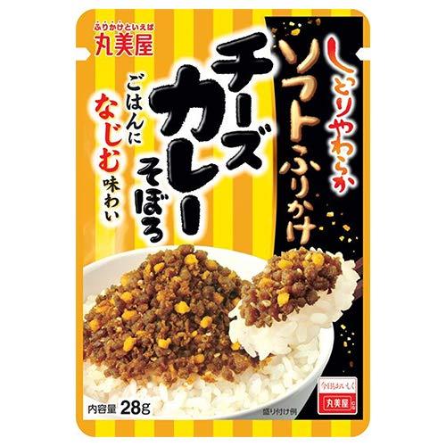 丸美屋 ソフトふりかけ チーズカレーそぼろ 28g×10袋入×(2ケース)